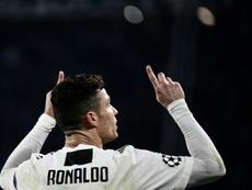 Matuidi elogia la prestazione di Ronaldo. AFP
