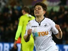 Il finit son contrat en juin. SwanseaCity