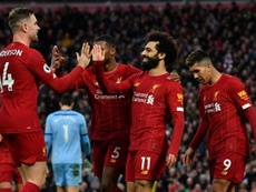 El Liverpool sigue cosechando récords. AFP
