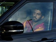 La marcha de Suárez al Atleti, paralizada. AFP
