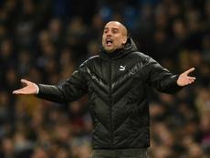 Guardiola querría a Lautaro para el City. AFP/Archivo