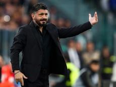 Gattuso elogió al Ajax. AFP