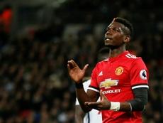 Paul Pogba fue criticado por su poco rigor táctico. AFP