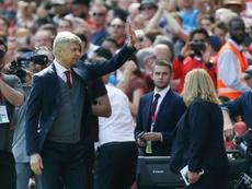 Wenger subrayó la dimensión del club. AFP