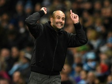 Guardiola forbade City players from going to the Christmas party. AFP
