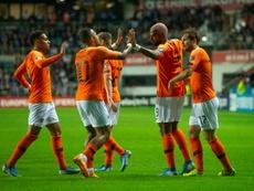 Babel marcó el primer gol de los suyos. AFP