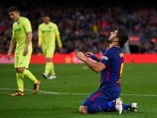 O Barcelona não conseguiu fazer gol. AFP