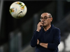 Sarri was asked about Arthur's situation. AFP