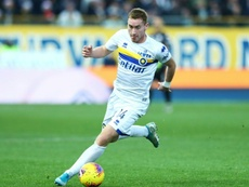 Guaio Parma, infortunio per Kulusevski: lesione muscolare di primo grado. AFP