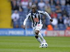 Mulumbu has played for West Brom, Norwich and Kilmarnock previously. AFP