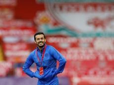 La cuenta de la Copa del Mundo respondió así a la despedida de Pedro. AFP
