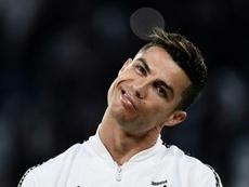 Cristiano não aprova Conte. AFP