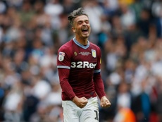 Grealish es la prioridad para el United. AFP