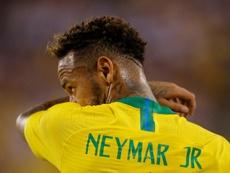 Neymar pode virar game. AFP