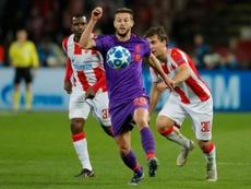 Lallana podría seguir compitiendo en la Premier League. AFP
