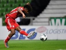 City want Coman as Sané's replacement. AFP