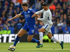 Leicester want at least 90 million pounds for Maguire. AFP
