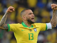 Dani Alves y sus polémicas palabras contra Argentina. AFP