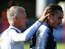 Griezmann, 'gafado' desde su fichaje por el Barça. AFP
