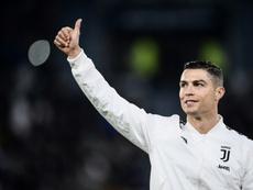Cristiano pasó revista en medios italianos. AFP