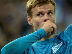 Kokorin firmará de nuevo con el Zenit. AFP