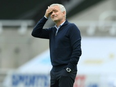 Jose Mourinho blamed COVID-19 for the loss to Everton. AFP