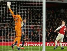 Ramsey va manquer à Arsenal. AFP