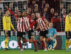 Lys Mousset s'offre un record en Premier League. AFP