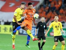 El Guangzhou Evergrande, a cuartos con doblete de Paulinho. EFE