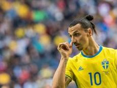 Ibrahimovic se retiró de la Selección en 2016. AFP