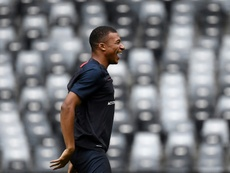 Mbappé is out again. AFP