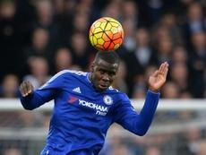 El Everton baraja hacerse con la cesión de Zouma. AFP
