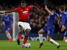 Pogba fue decisivo con un gol y una asistencia. AFP