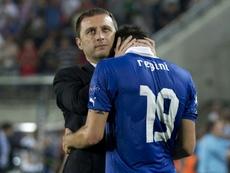 Devis Mangia es el nuevo entrenador de Malta. AFP/Archivo