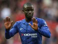 Kante is injured and unlikely to play the game on Saturday. AFP