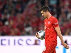 La falta de puntería condenó al Bayern ante el Hertha. AFP