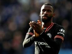 El Chelsea rechaza ceder a Rüdiger al PSG. AFP