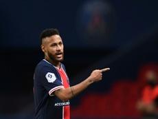 Neymar pega dois jogos de suspensão. AFP