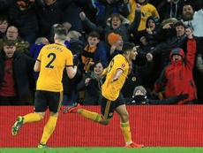 Jimenez bagged the first Wolves goal. ESPN