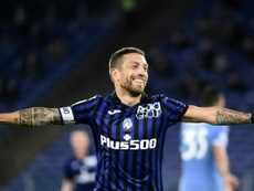 Atalanta captain Alejandro 'Papu' Gomez is set to leave. AFP