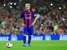Números de Messi desde os 11 metros.  AFP