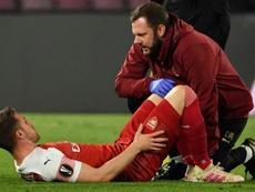 La lesión de Ramsey, el único punto negativo para Emery. AFP