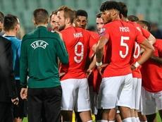 Un match à huis clos pour la Bulgarie, un deuxième avec sursis. AFP