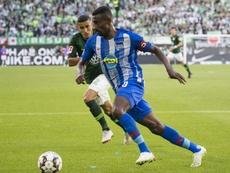 Kalou no jugará más, tras su polémico vídeo. AFP/Archivo