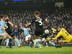 Carrusel de goles en la FA Cup. AFP