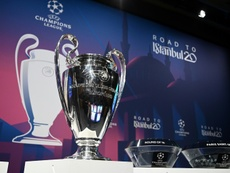The Champions League final will not be taking place at the end of May. AFP