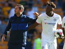Tammy Abraham podría renovar con el Chelsea. AFP