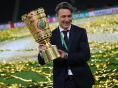 Niko Kovac fue técnico en las categorías inferiores del Salzburgo. AFP