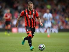 Wilshere volverá a jugar en el Bournemouth. AFP