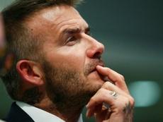 Beckham pudo llegar a ser ministro de deportes. AFP